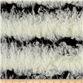 Shannon Lux Faux Fur Raya Mongolian Off White/Black