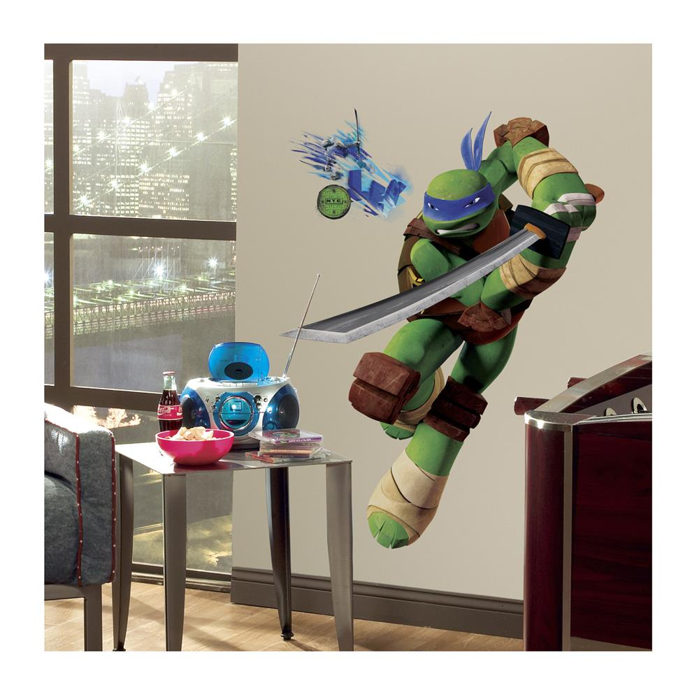 Tmnt Leo Giant Wall Wall Decals