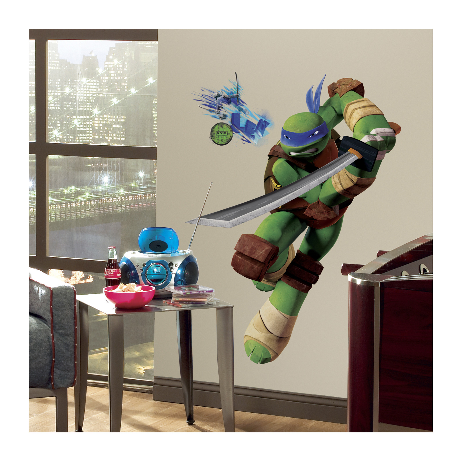 Tmnt Leo Giant Wall Wall Decals by Stardom Specialty in USA