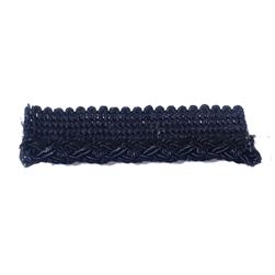 "Fabricut 1"" Coldplay Cord Trim Coal"