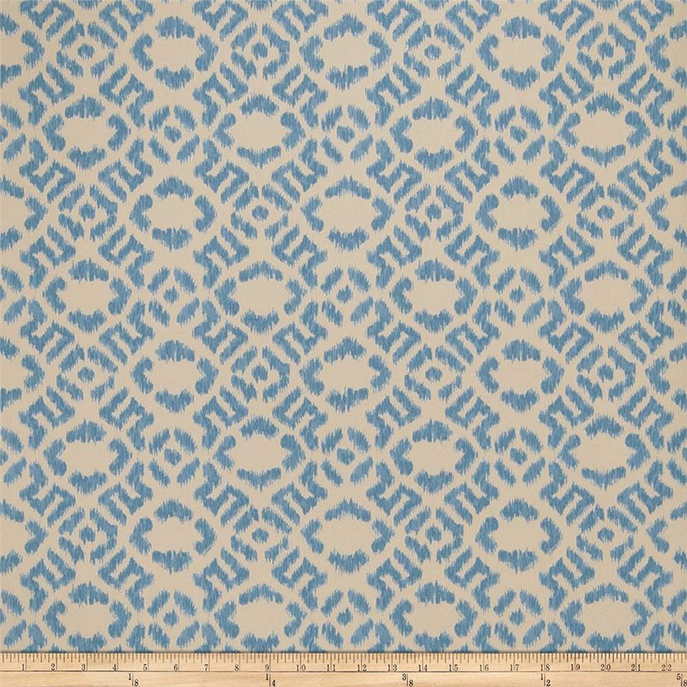 Fabricut 50025w Diamante Wallpaper Teal 05 (Double Roll)