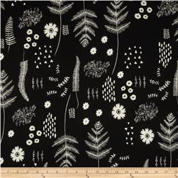 Cotton & Steel Black & White Botanical Floral
