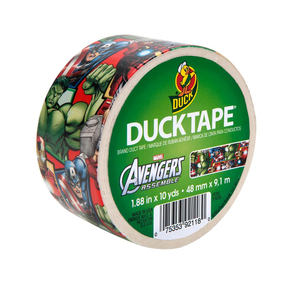 "Licensed Duck Tape 1.88"" x 10yd-Avengers"