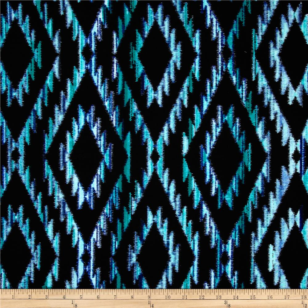 Michael Miller Tribal Blanket Teal