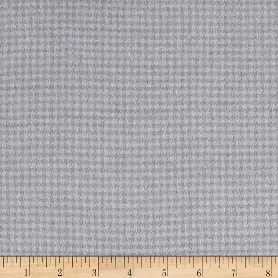 Local Color Yarn Dyed Flannels Houndstooth Light Gray