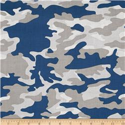 Riley Blake Military Max Camo Blue