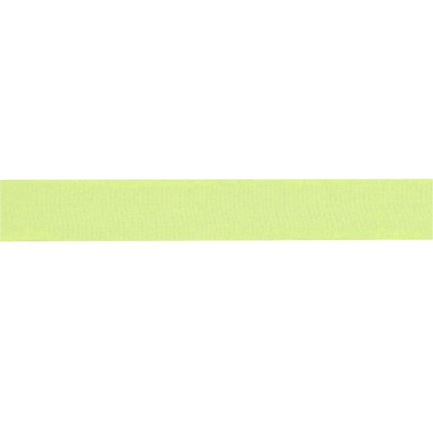 1'' Sheer Organza Ribbon Lime