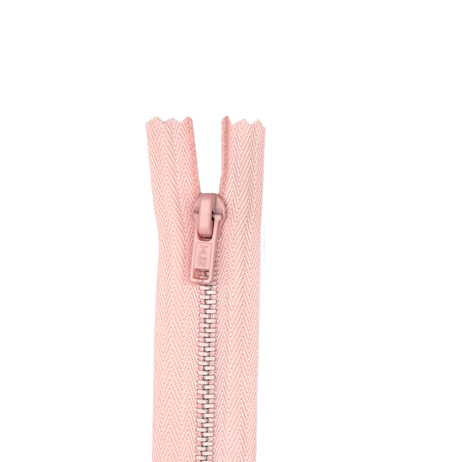 Metal All Purpose Zipper 7'' Light Pink