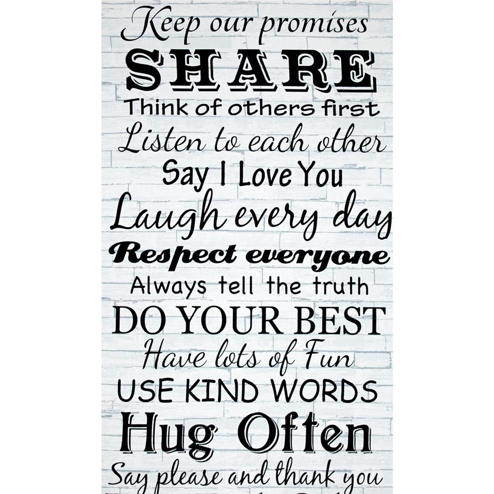 Timeless Treasures 24'' Panel Kind Words Dove Fabric By The Yard