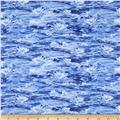 Natural Treasures 2 Ocean Waves Blue