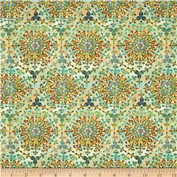 Natural Wonders Medallion Green