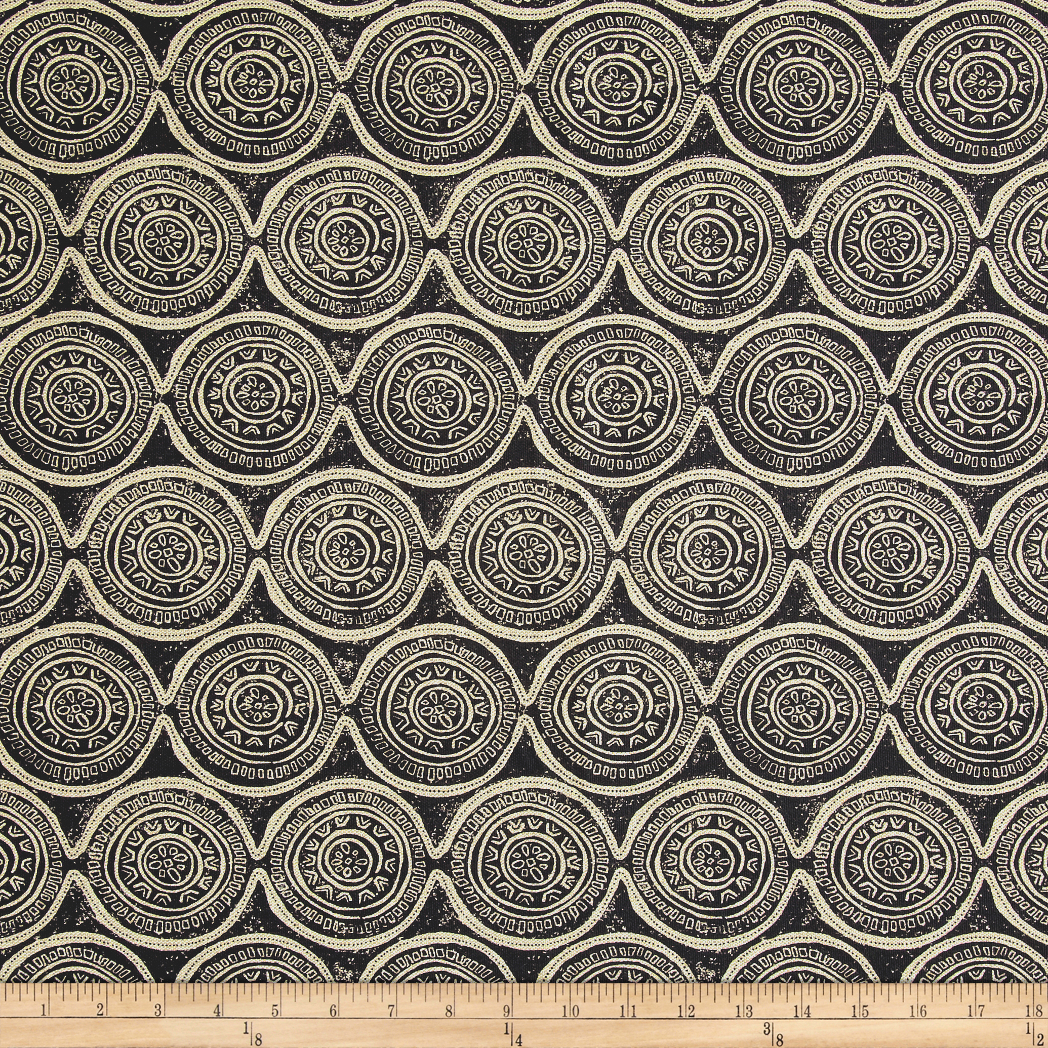 Lacefield Atlas Granite Danish Linen Fabric by Lacefield in USA