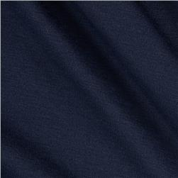 Stretch Jersey Knit Deep Navy Fabric