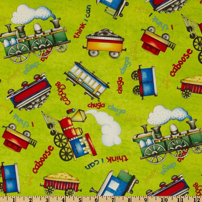 Object moved for Train print fabric