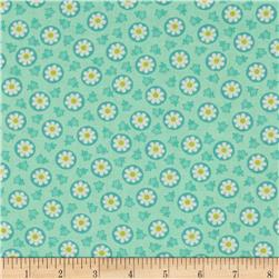 Savvy Swirls Circle Flower Teal