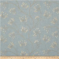 Swavelle/Mill Creek Embroidered Blamont Aqua