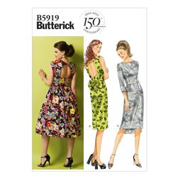 Butterick Misses' Dress Pattern B5919 Size A50
