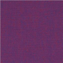 Kaufman Interweave Chambray Boysenberry