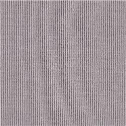 2x1 Cotton Rib Knit Steel Grey