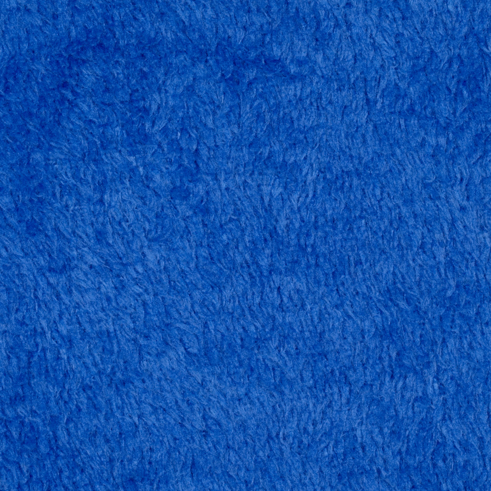 Plush Coral Fleece Sapphire Fabric by Eugene in USA