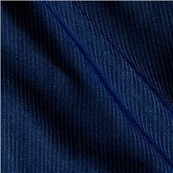 Telio Denim Pin Stripes Dark Blue