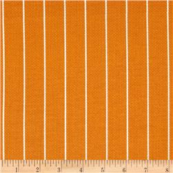 Michael Miller Textured Basics Shoreline Stripe Tangerine