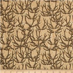 Forest Antlers Tan