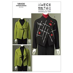 Vogue Misses' Jacket Pattern V8430 Size OSZ