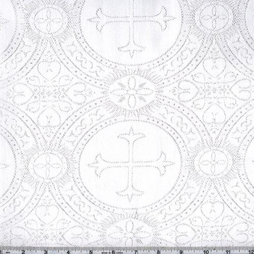 Clergy Brocade White