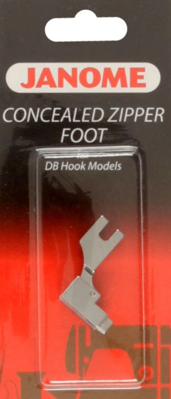 Janome Concealed Zipper Foot (1600) Series