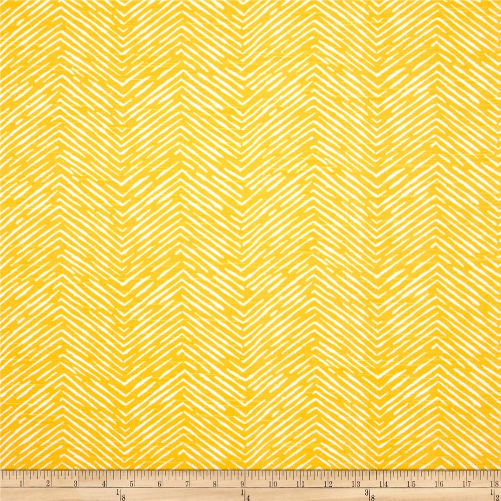 Premier Prints Cameron Slub Corn Yellow