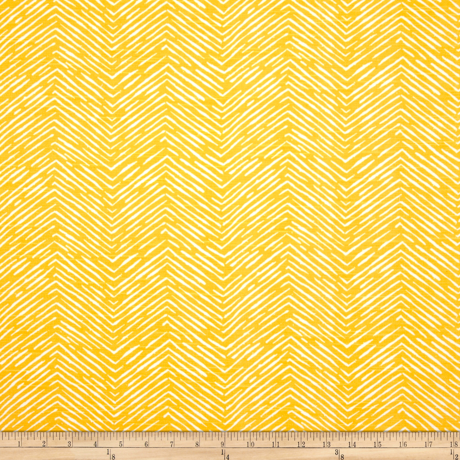 Premier Prints Cameron Slub Corn Yellow Fabric