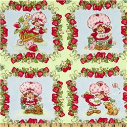 Strawberry Shortcake Classic Pets Patchwork Light Green