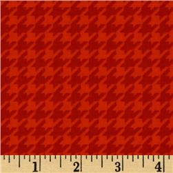 Ace Houndstooth Red
