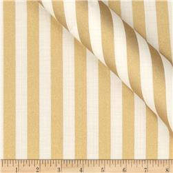 Jackie Heavy Metal Collection Stripe Metallic Gold Fabric