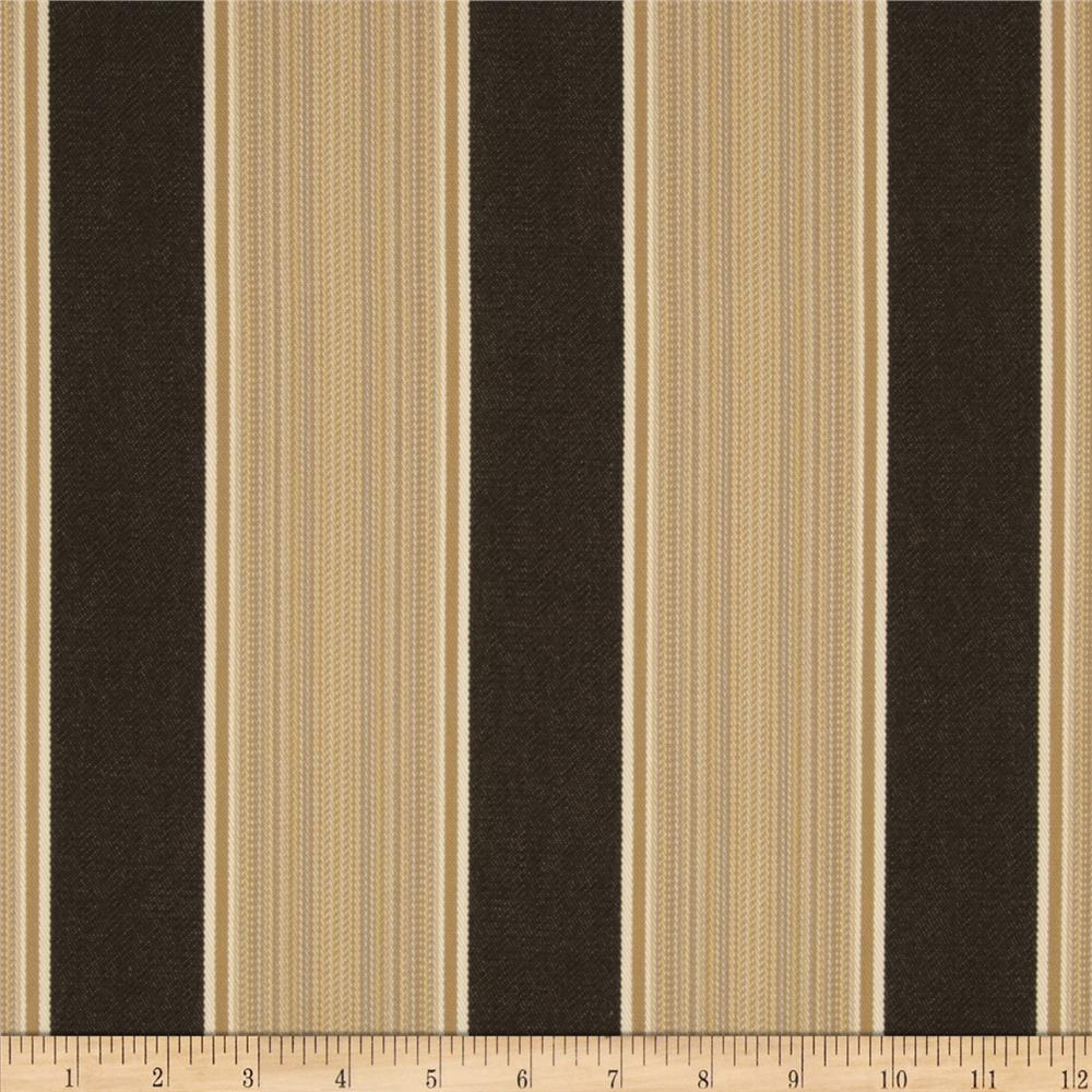 Sunbrella Outdoor Davidson Stripe Walnut