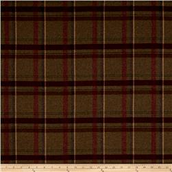 Ralph Lauren Home Heathland Melton Wool Plaid Juniper
