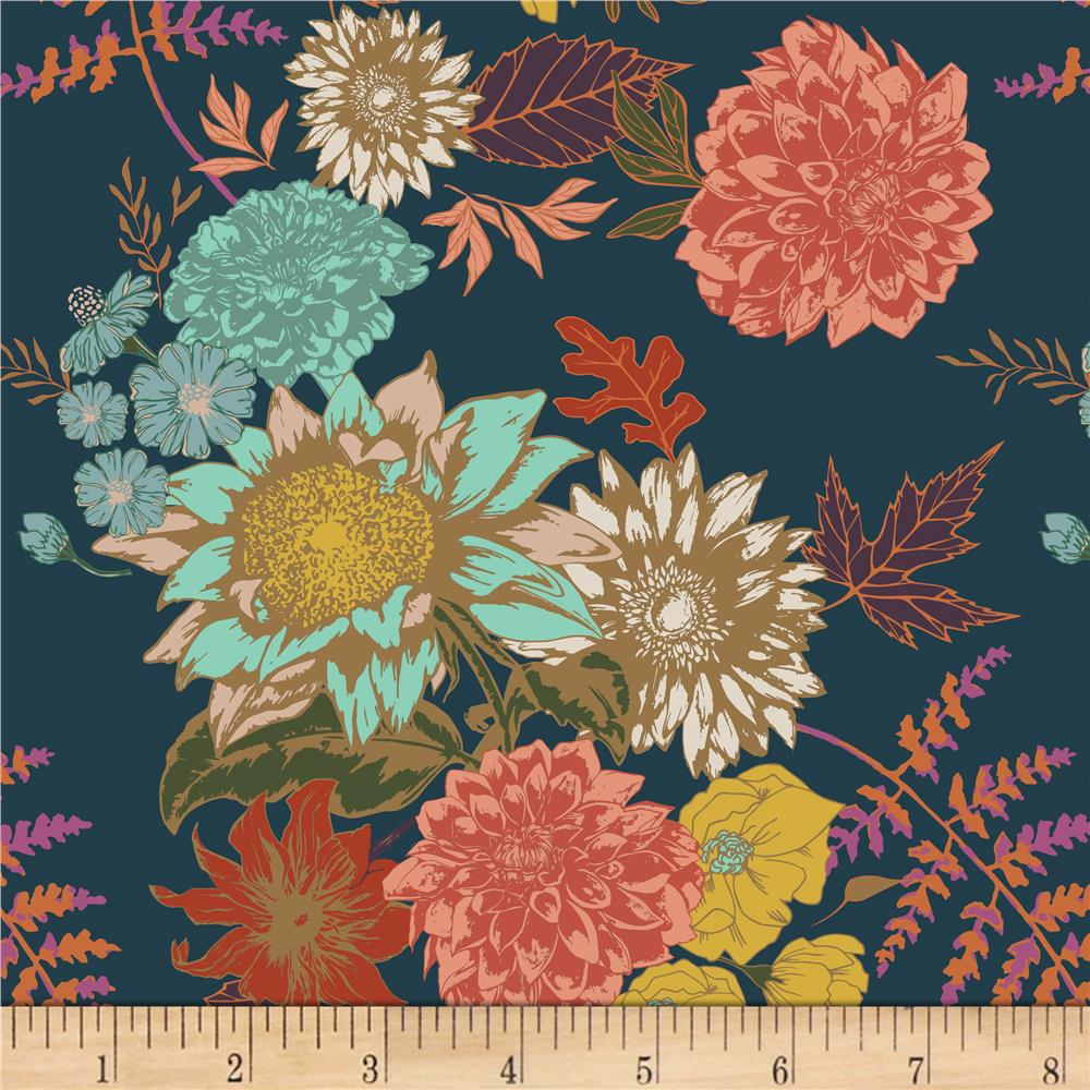 NEW JERSEY FABRIC FLORAL PRINT STRETCHY 58/'/' WIDE GOOD QUALITY