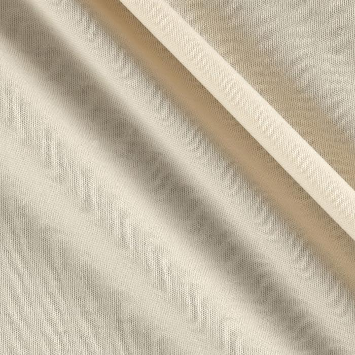 Organic Cotton Interlock Knit Ivory