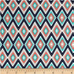 Art Gallery Recollection Jersey Knit  Kilim Inherit Shadow