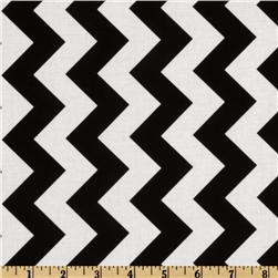 Riley Blake Chevron Medium Black Fabric
