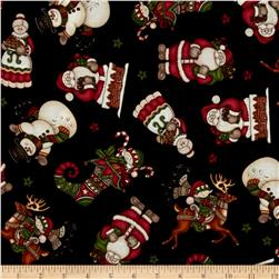 Holly Jolly Character Toss Black