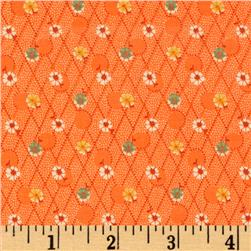Aunt Grace Miniatures Flower Trellis Orange