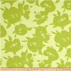 Breeze Large Tone on Tone Flowers Lime