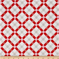 Penny Rose Apple Farm Plaid Red