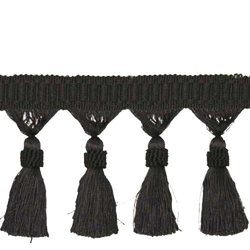 Expo 5 1/2'' Tassel Trim Black