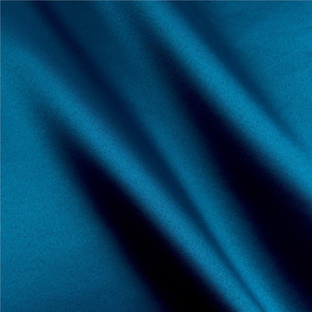 Dark Teal mi amor duchess satin dark teal - discount designer fabric