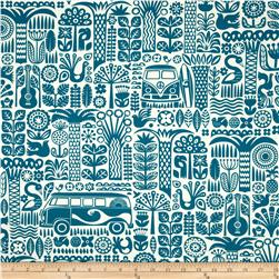Birch Organic Ipanema Main Teal
