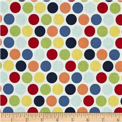Riley Blake Pieces of Hope 2 Dots Multi