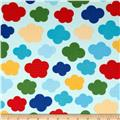 Urban Flotologie Flannel Clouds Rainbow